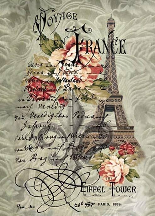 Carte postale - Paris -Tour Eiffel