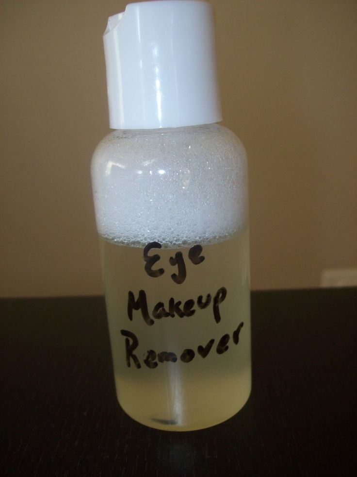 DIY home made eye makeup remover. Why pay an outrageous amount at the store when you can make it at home with things you already have.
