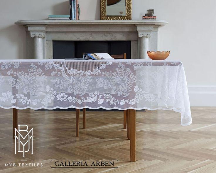 роскошные ажурные #скатерти и кружева @MYB_Textiles вы найдете в #Galleria_Arben #fabric #decoration #interiordesign