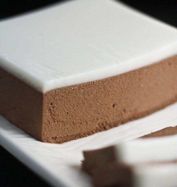 Chocolate Pâté with Crème Chaud-Froid