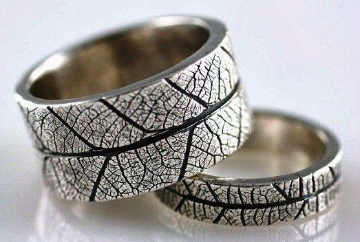 Самые необычные обручальные кольца для молодоженов