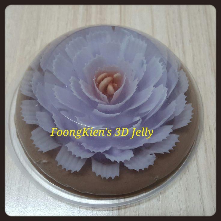 FLOWER INFILL Red: Beet root Purple: Purple cabbage BASE Chocolate milk