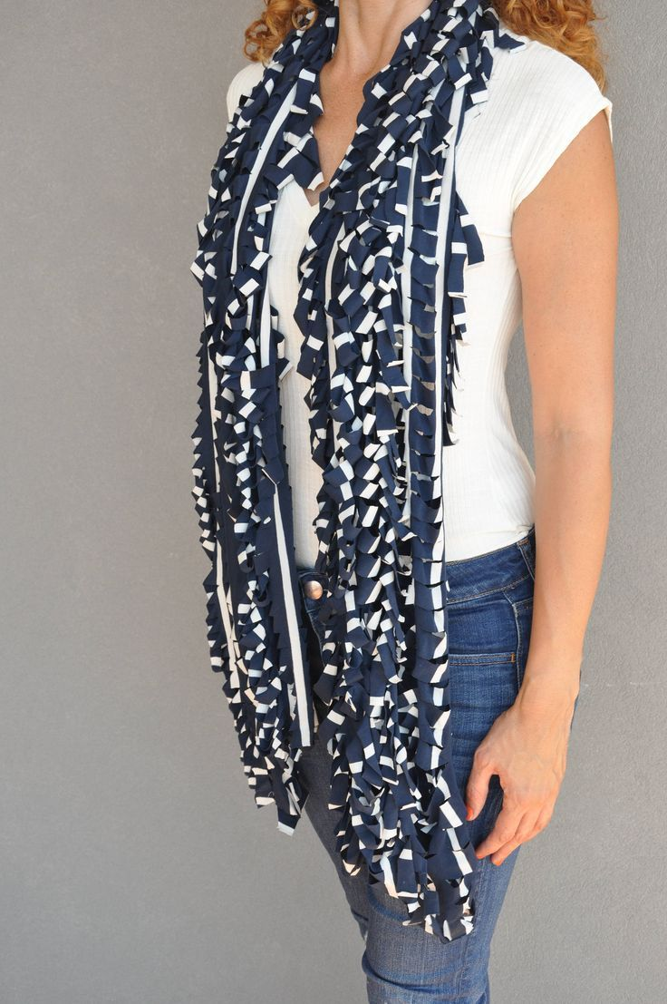 Blanket scarf, Infinity scarves, Crochet scarf, Big scarf, Blue bolero, Winter scarf, Womens scarves, Gift for her, Cover up shawl, Striped