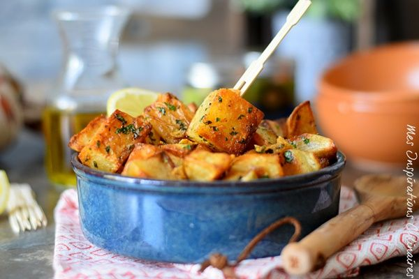 Batata Harra Mezze libanais : Pommes de terre épicées