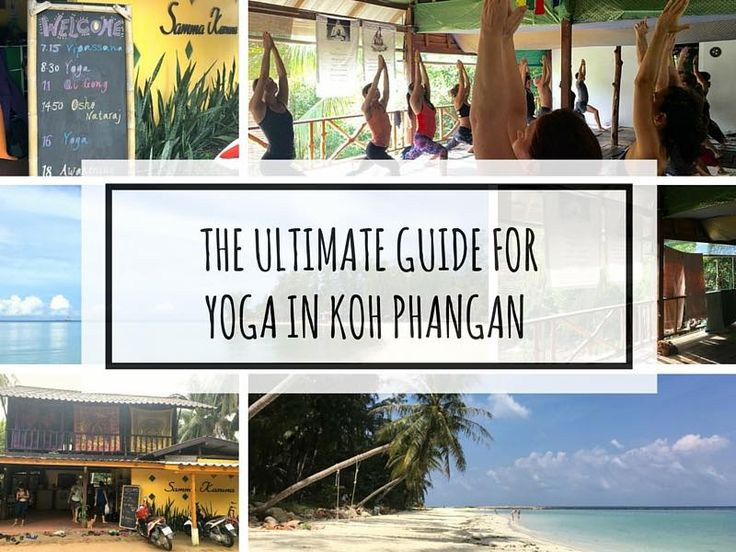 THE ULTIMATE GUIDE FOR YOGA IN KOH PHANGAN (WITH MAP) via @happyyogatravels
