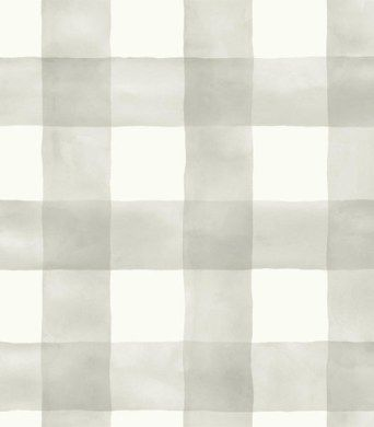 Watercolor Check Wallpaper from Joanna Gaines Magnolia Home by York. Priced by single roll and packaged double. Buy samples today. Arlington, TX