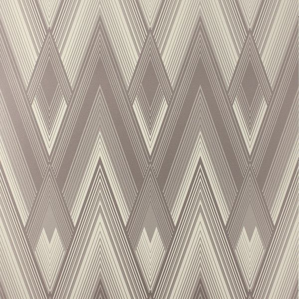Osborne & Little Astoria Wallpaper - W6893-04 ($84) ❤ liked on Polyvore featuring home, home decor, wallpaper, grey, zig zag wallpaper, gray wallpaper, grey wallpaper, art deco home decor and gray home decor