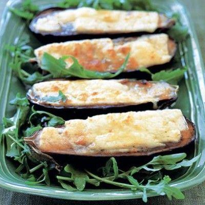 Taste Mag | Grilled aubergine with halloumi @ http://taste.co.za/recipes/grilled-aubergine-with-halloumi/