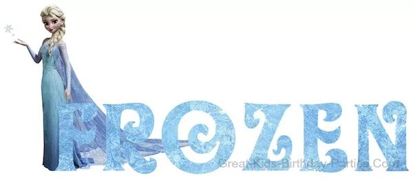 Frozen Font