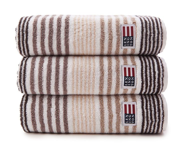 Lexington Company has a brand new addition – the Original Striped Towel. Matches perfectly with the original towels.