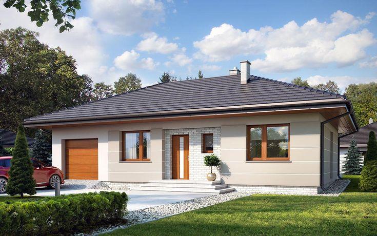 #projekt #domu Galia drewniana to prosty i ekonomiczny w budowie ale zarazem funkcjonalny dom, który powstał z myślą o inwestorach poszukujących alternatywy do mieszkania w bloku. Jest to nowoczesny, urokliwy dom mieszkalny w technologii szkieletu drewnianego przeznaczony dla 4 osobowej rodziny. Ogromnym jego plusem jest program funkcjonalny z widocznym podziałem na część dzienną, nocną i gospodarczą, gdzie wnętrze zostało rozplanowane w sposób przemyślany, z dbałością o maksymalne…