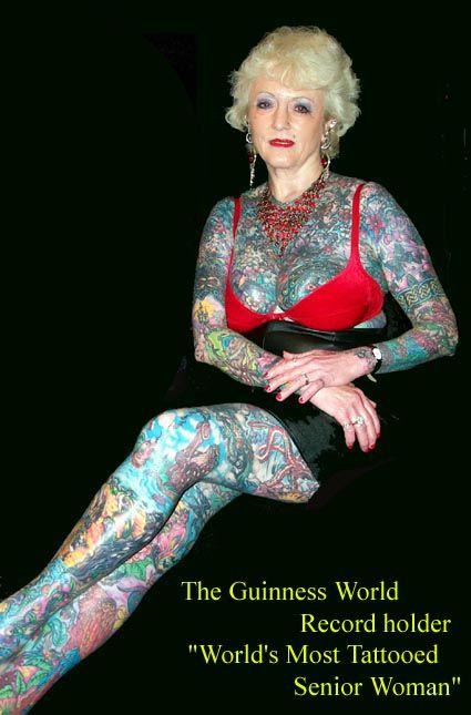 Veja como ficam tatuagens na terceira idade. 22 Fotos de Idosos Tatuados