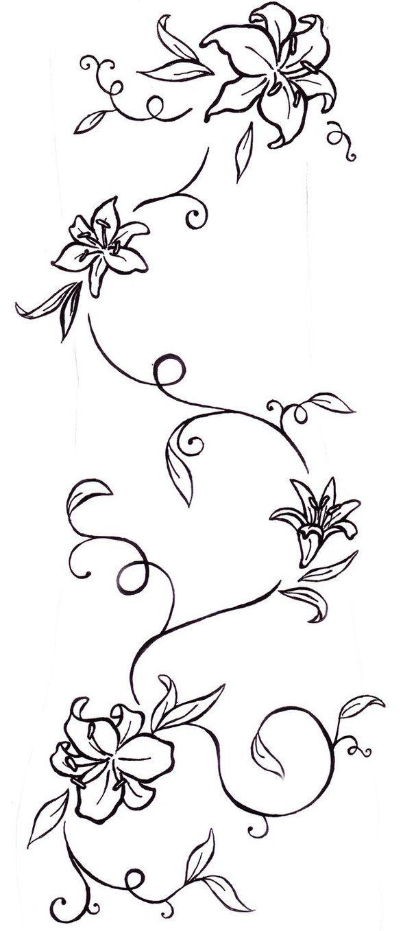 Résultats Google Recherche d'images correspondant à http://waktattoos.com/large/Vines_tattoo_14.jpg