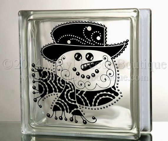 Best Glass Blocks Ideas Images On Pinterest Glass Block - How to make vinyl decals for glass blocks