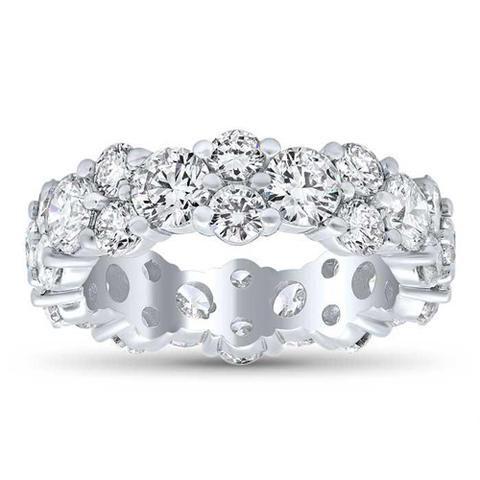 Diamant-Ewigkeitsringe mit einzigartiger Wendung
