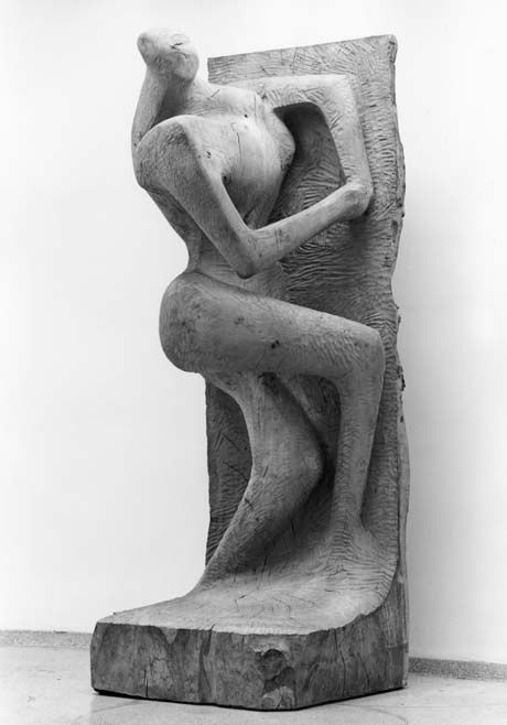 Henry Moore - Upright Figure 1955-60 (LH 403)
