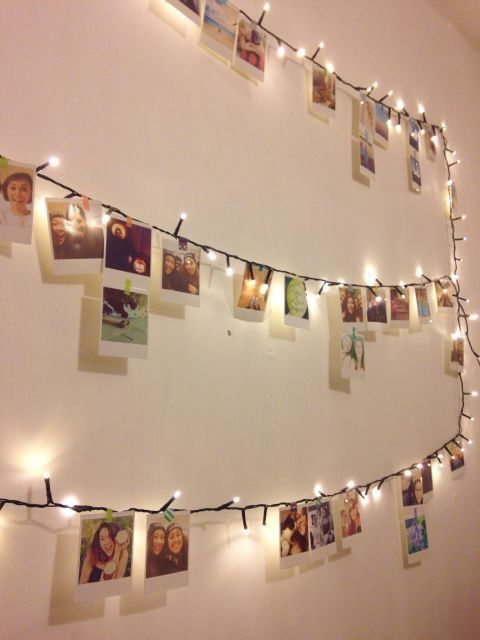 Best 25 Photo String Ideas On Pinterest Hanging Polaroids Hang Pictures And Hang Photos