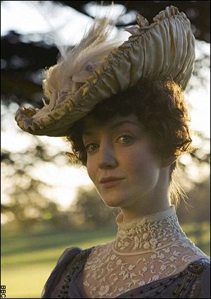 the costumes of larkrise to candleford - Lady Adelaide