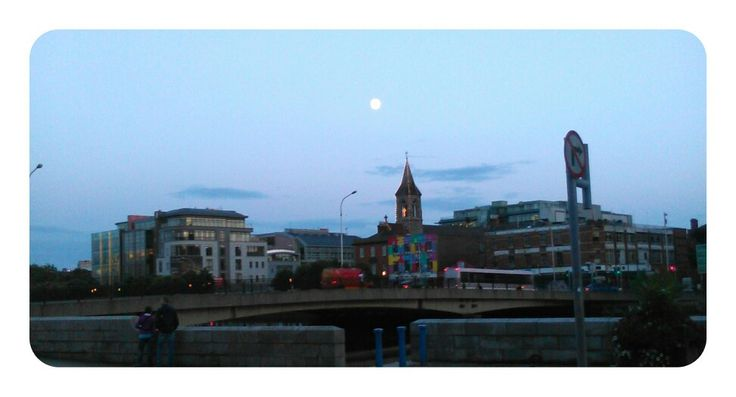 Moon over Dublin