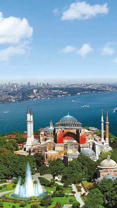 Hagia Sophia, Istambul.