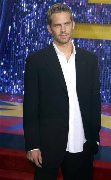 Paul Walker arrives at the 2003 MTV Movie Awards at The Shrine Auditorium in Los Angeles, Calif., on May 31, 2003.