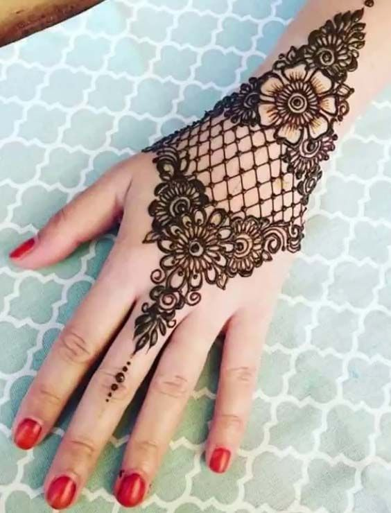 40 Best Bridal Henna Mehndi Designs For 2018 Henna Mehndi Designs