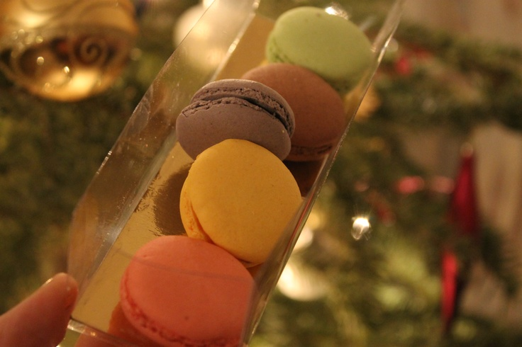 Macarons at christmas