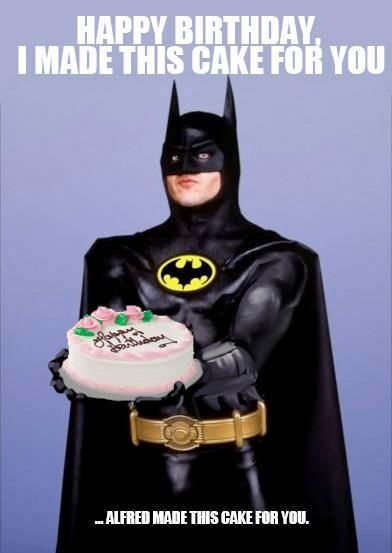 Batman Birthday Meme