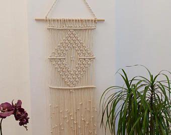 Macrame wall hanging, woven wall hanging, woven wall tapestry, boho wall hanging, wall tapestry, macrame, boho home decor, shabby chic home