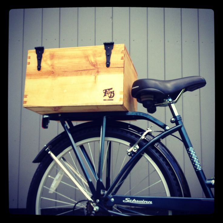 FINN & BURNSIE wooden bike box