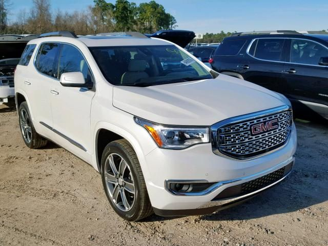 Salvage 2019 Gmc Acadia Denali New Car Smell New Suv Acadia Denali