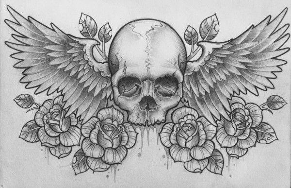 rose and script tattoo - Google Search