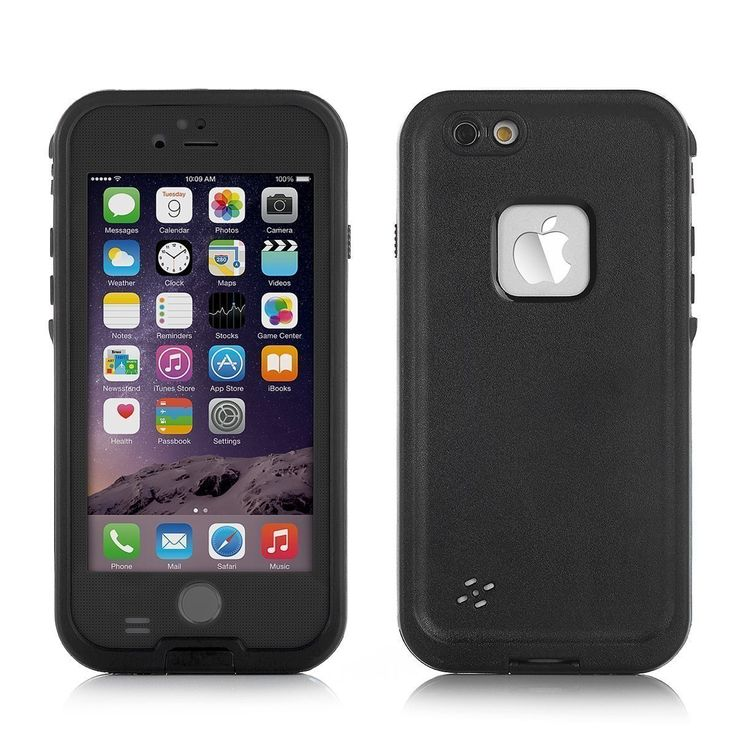 iCare™ Iphone 6 4.7in Waterproof case Fringer Print Touch ID Available (black). Customised for iPhone 6 4.7 in, completely sealed and all key functions are available, such as Finger print touch ID, volumn keys and mute/ring key. Front cover with scratched- free and oil-free screen protector, built-in anti-photo exposure glass provides victory selfies, say goodbue to foggy pictures. Back cover with durable charging port door provides decent job for daily charging; removable headphone jack…