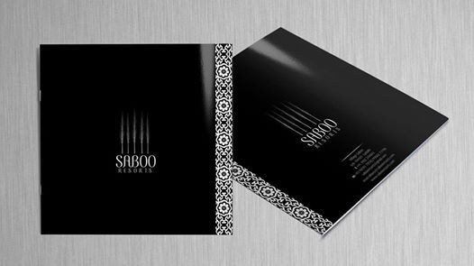 Brochure Design for Saboo Resorts, Ladakh
