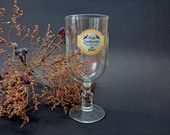 Vintage Beer Mug, Glass Beer Mug, Grolsch Beer Glass, Collectible Glass, Father's Day