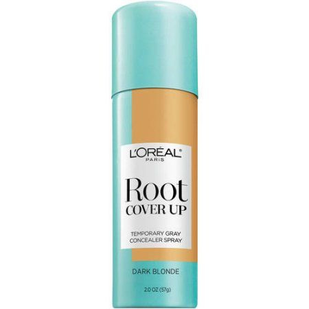 L'Oreal Paris Root Cover Up Temporary Gray Concealer Spray, Dark Blonde 2.0oz