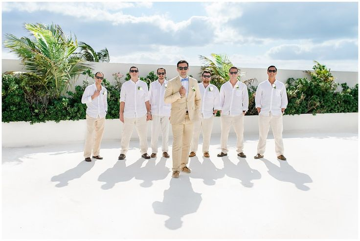 Rock'in Groomsmen. Daily Blog feature http://bit.ly/1QXAiEM #lizmooreweddings