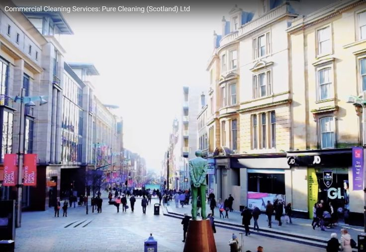 The top of Buchanan Street, Glasgow by Pure Cleaning (Scotland) Ltd