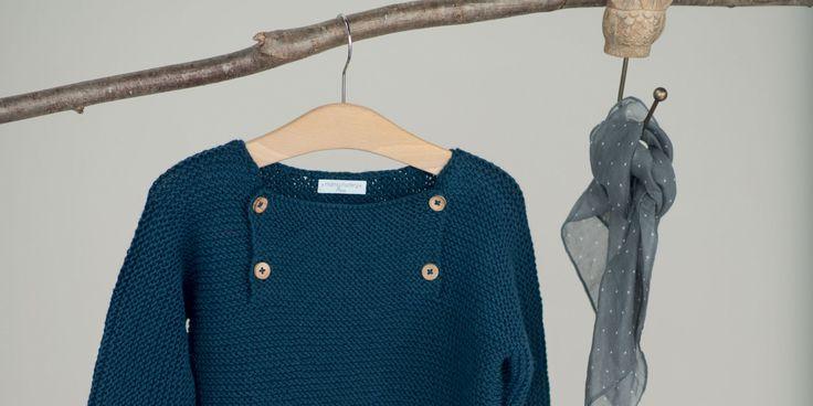 Tricot enfant : un pull sans couture. Patron gratuit + tuto Marie Claire Idées. 2 à 4 ans.