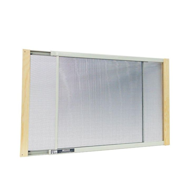 W B Marvin 21 - 37 in. W x 15 in. H Wood Frame Adjustable Window Screen-AWS1537 at The Home Depot $6.97