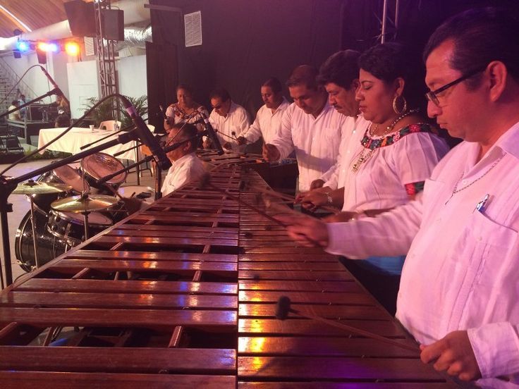 Marimba, distintivo de Música Folklórica y el Zapateado Tabasqueño