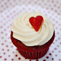 Receta de Cupcakes Red Velvet San Valentín