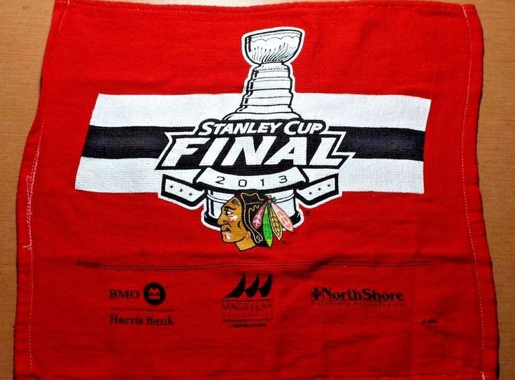 2013 CHICAGO BLACKHAWKS RALLY TOWEL STANLEY CUP FINAL #ChicagoBlackhawks