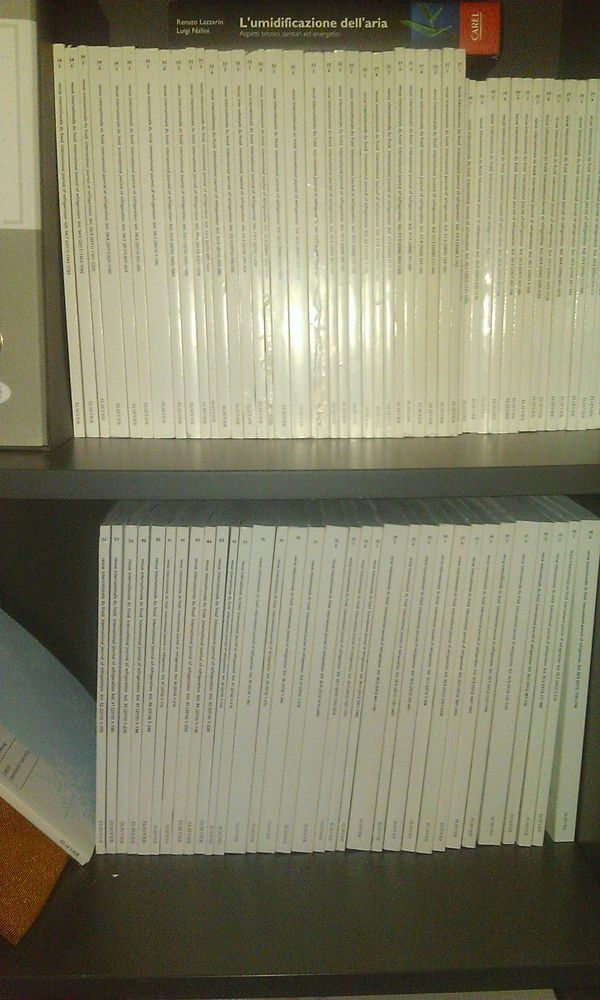 International Journal of refrigeration book collection