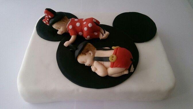 Mickey und Minni Baby