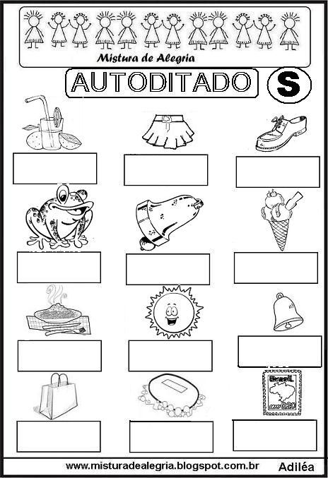 www.misturadealegria.blogspot.com.br-autoditado+S-imprimir-colorir.JPG (464×677)