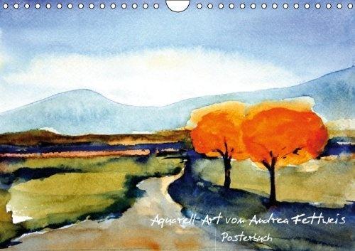Aquarell-Art von Andrea Fettweis - Posterbuch (PosterbuchDIN A4 quer) von Andrea Fettweis, http://www.amazon.de/dp/3660043516/ref=cm_sw_r_pi_dp_UbNhrb0EY2XVK