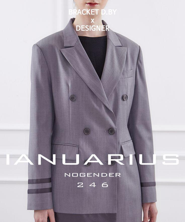 designed by IANUARIUS, grey jacket, jacket, blazer, manish mood, BRACKET D.BY