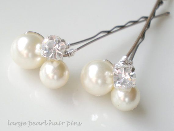 Chic Pearl Bridal Hair Pins