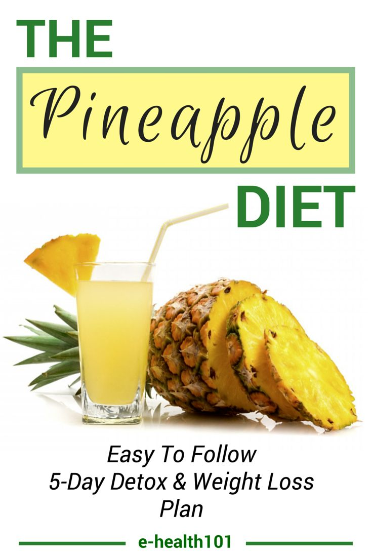 THE PINEAPPLE DIET: RAPID WEIGHT-LOSS AND A TOXIN-FREE BODY IN 5 DAYS!